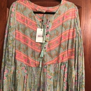 Spell & The Gypsy Collective Tops - Spell and the Gypsy City Lights Blouse - XL